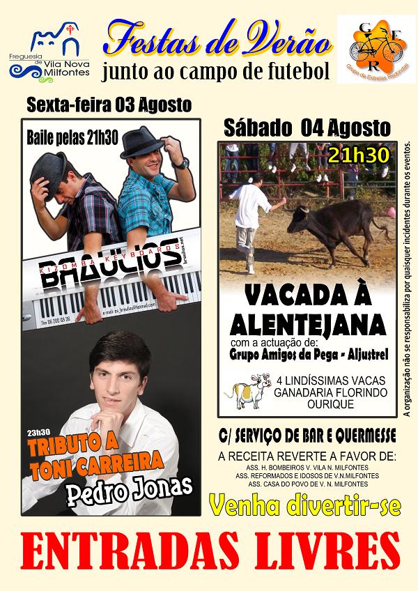 Cartaz Festas de Vila Nova de Milfontes