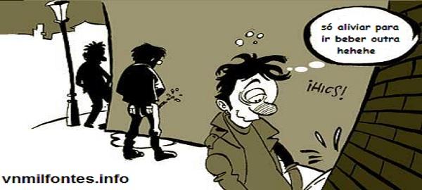 Botellon em Cartoon