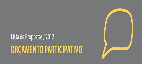 Orçamento Participativo 2012