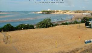 campo de futebol praia em vila nova de milfontes