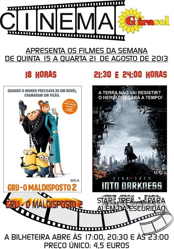 cartaz cinema girasol