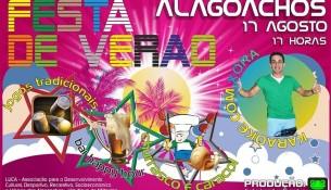 cartaz festa alagoachos