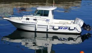 fotografia de barco de recreio