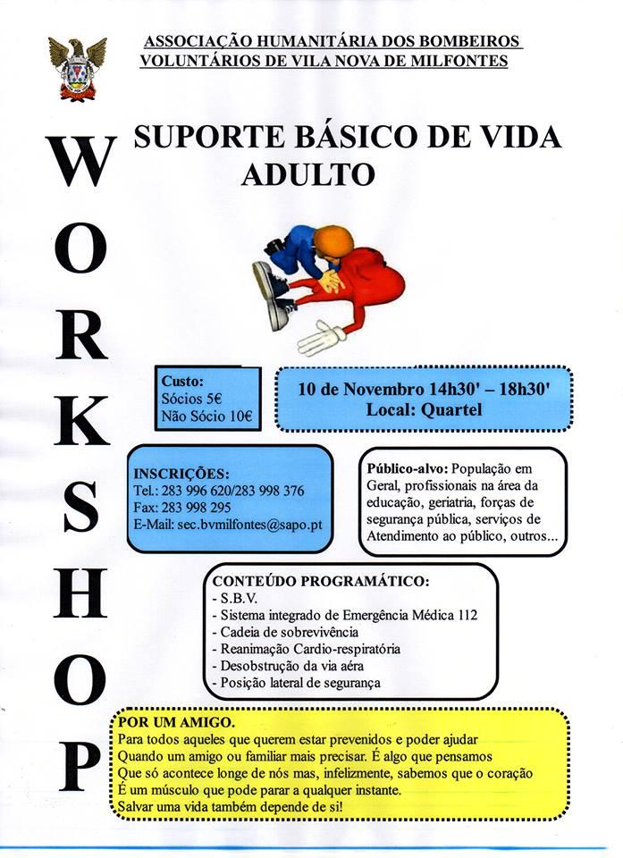 workshop sbv vila nova de milfontes