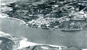 fotografia antiga vila nova de milfontes 1945