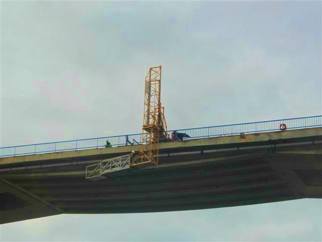 obras da ponte em milfontes