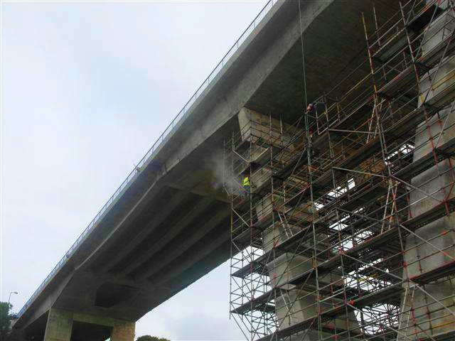 ponte vila nova milfontes em obras
