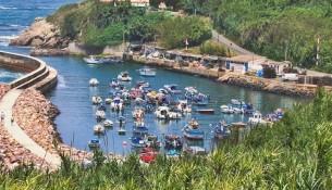 portinho do canal em vila nova de milfontes