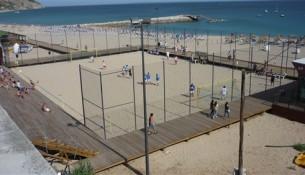 praia do ouro em sesimbra futebol de praia
