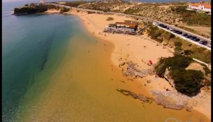 praia franquia fotografia aerea