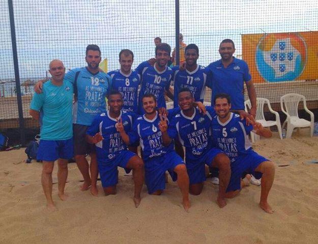 equipa de futebol de praia do CDP Milfontes
