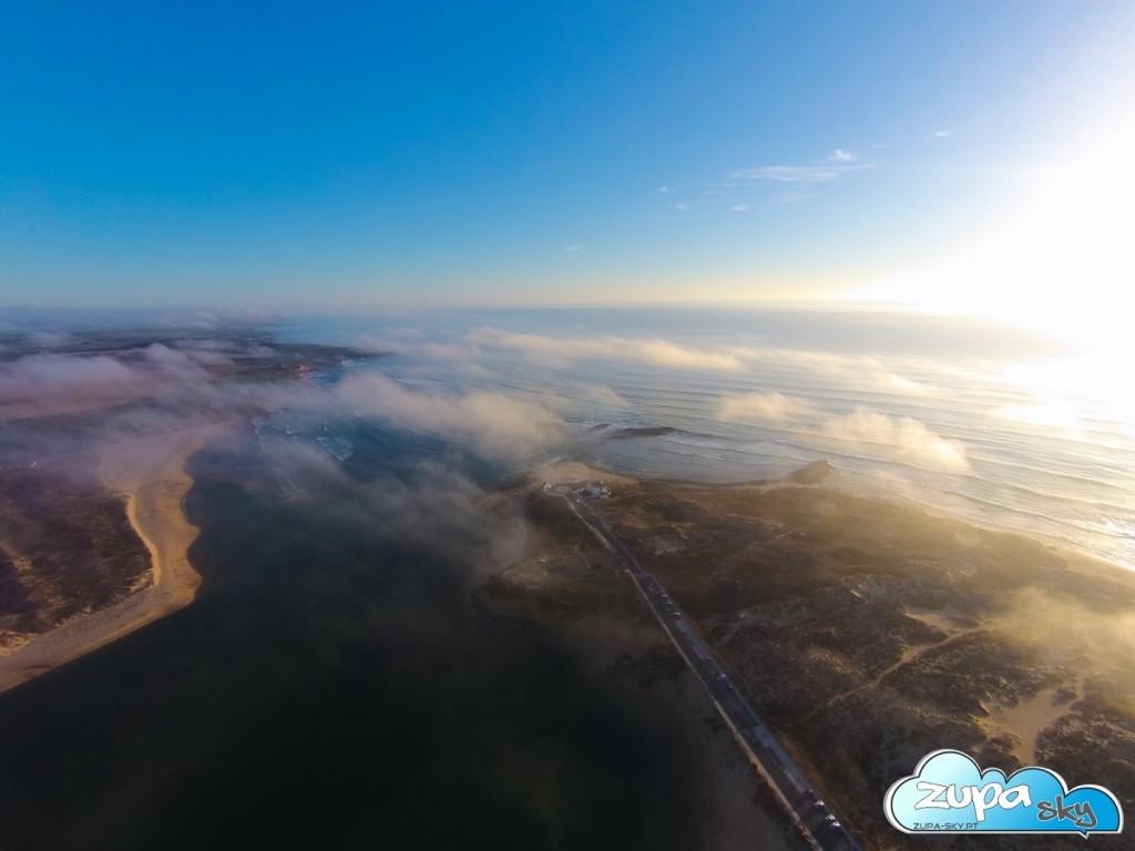vila nova de milfontes - foz do mira nuvens