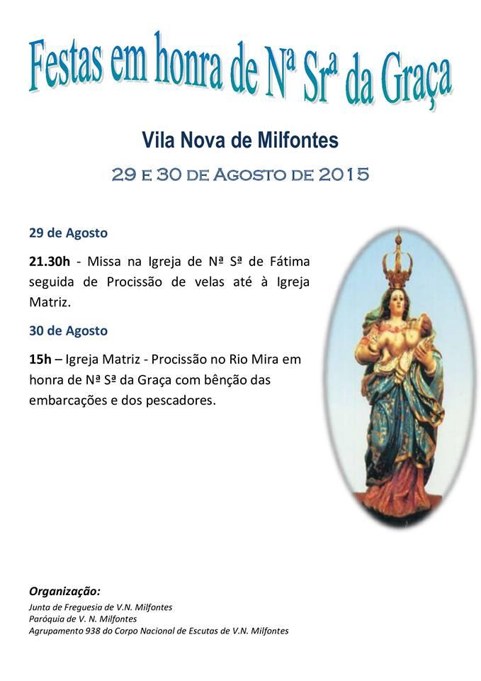 Festas Em Honra de Nossa Senhora da Graça