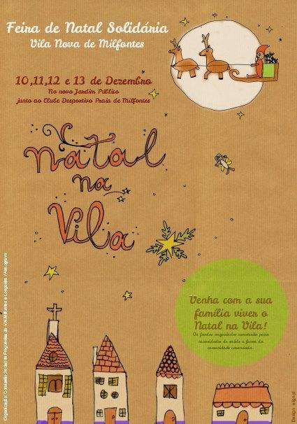 feira natal vila nova milfontes