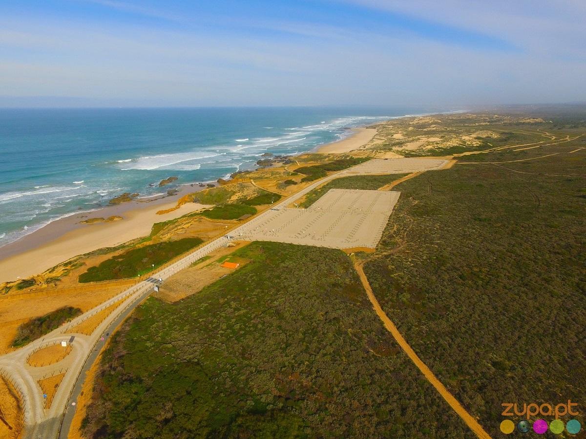 praia do malhão obras